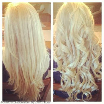 Phenomenal By Devin Ross Curled Hair Hairstyle Blonde Longhair Bigcurls Hairstyle Inspiration Daily Dogsangcom