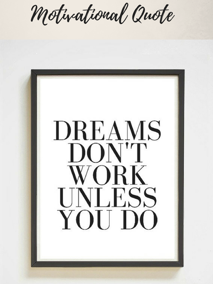 Printable Motivational Quote Perfect For Home Office Or Work Place Affiliatelink Printable Motivational Quotes Motivational Quotes Quotes