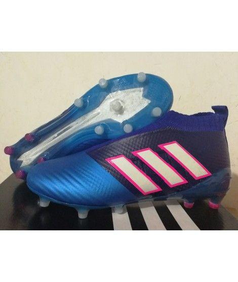 sports shoes 4077d 8a6ec Adidas ACE 17 PureControl FG PEVNÝ POVRCH Modrý Červená Bílá Kopačky