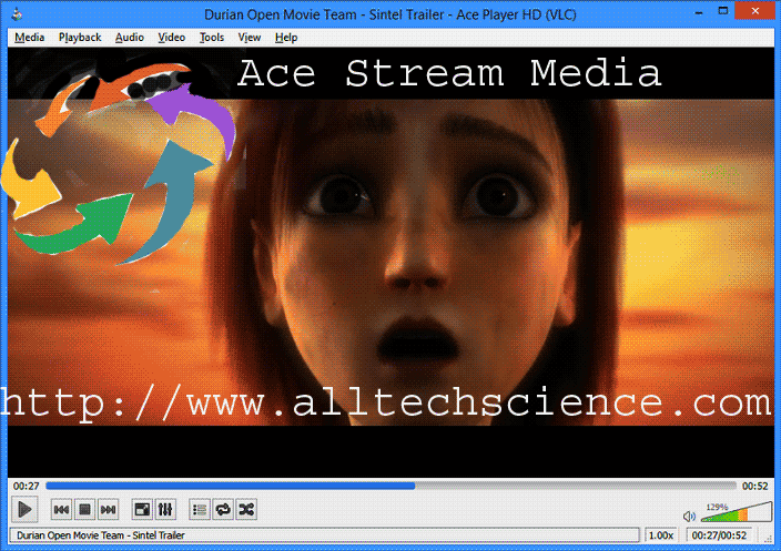 how to use ace stream media