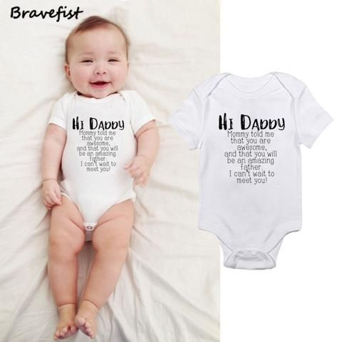 7d5255736 Cute Newborn Children Baby Girl Clothes Babies Bodysuit Infant Bebes ...
