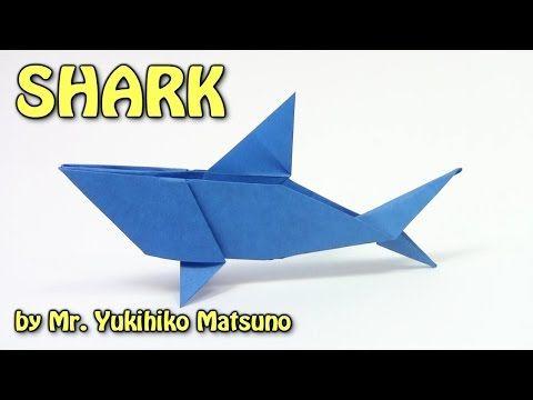 Origami Shark (Yukihiko Matsuno) - Paper Folding / Papier Falten ... | 360x480