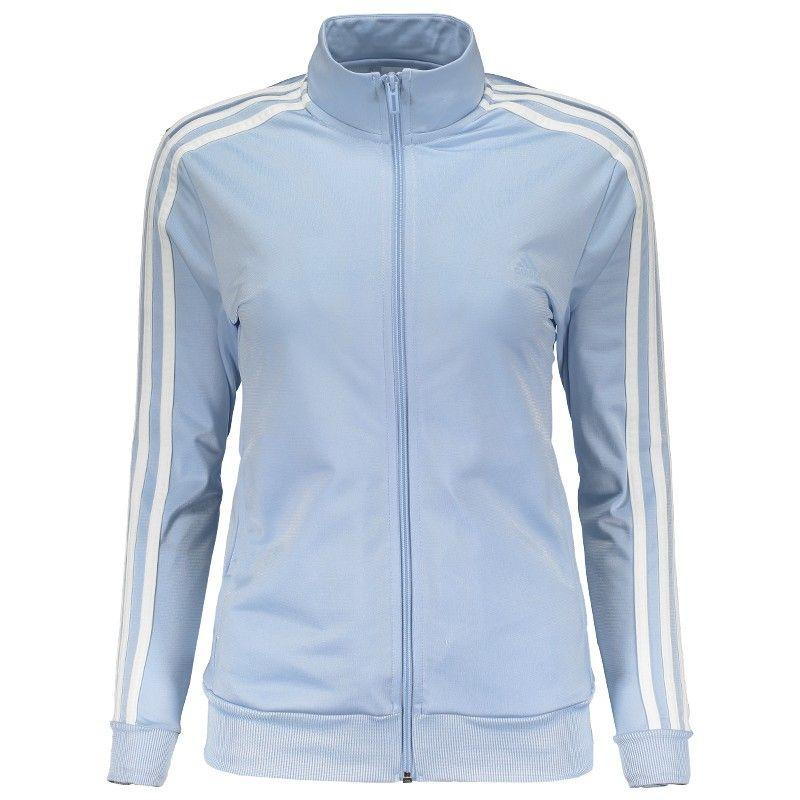 442b448861c Agasalho Adidas Kn Ts 1 Feminino Azul Somente na FutFanatics você compra  agora Agasalho Adidas Kn