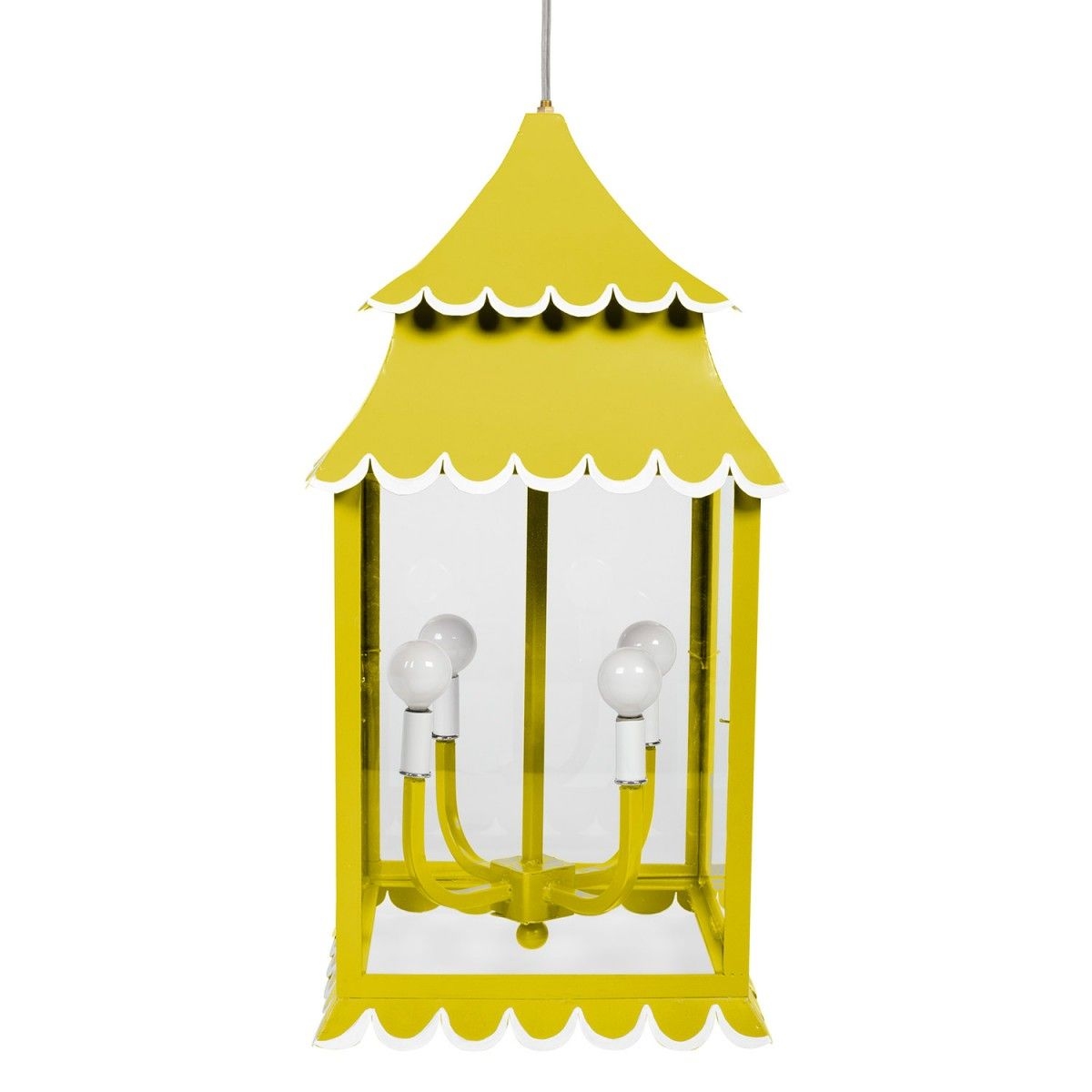 The Girly Hanging Lantern is perfect for an entryway or powder room! #straydogdesigns