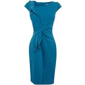 Karen Millen Minimal Crepe Shift Dress