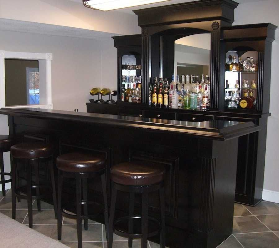 Home Bar Design Ideas Conforte Custom Wood Home Bar