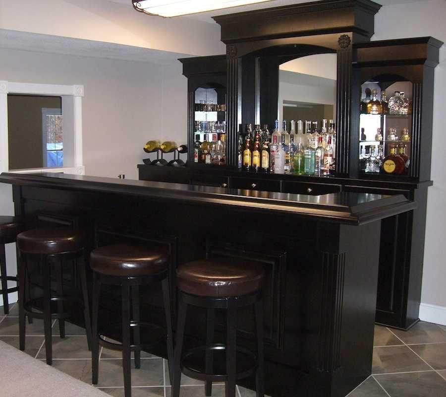 Home Bar Design Ideas Conforte Custom Wood Home Bar
