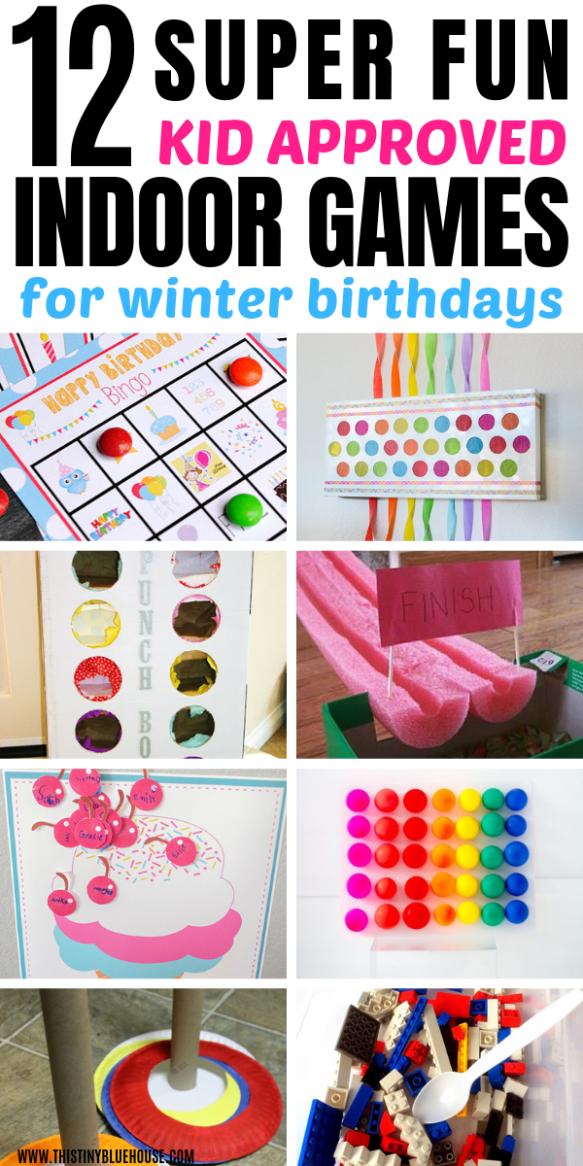 10 Indoor Birthday Party Games Kids Will Love  Birthday -8573
