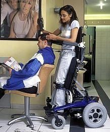 This image goes to show that even if an individual has a disability they should pursue their dreams. Assistive technology is advancing more everyday to help individuals become independent.