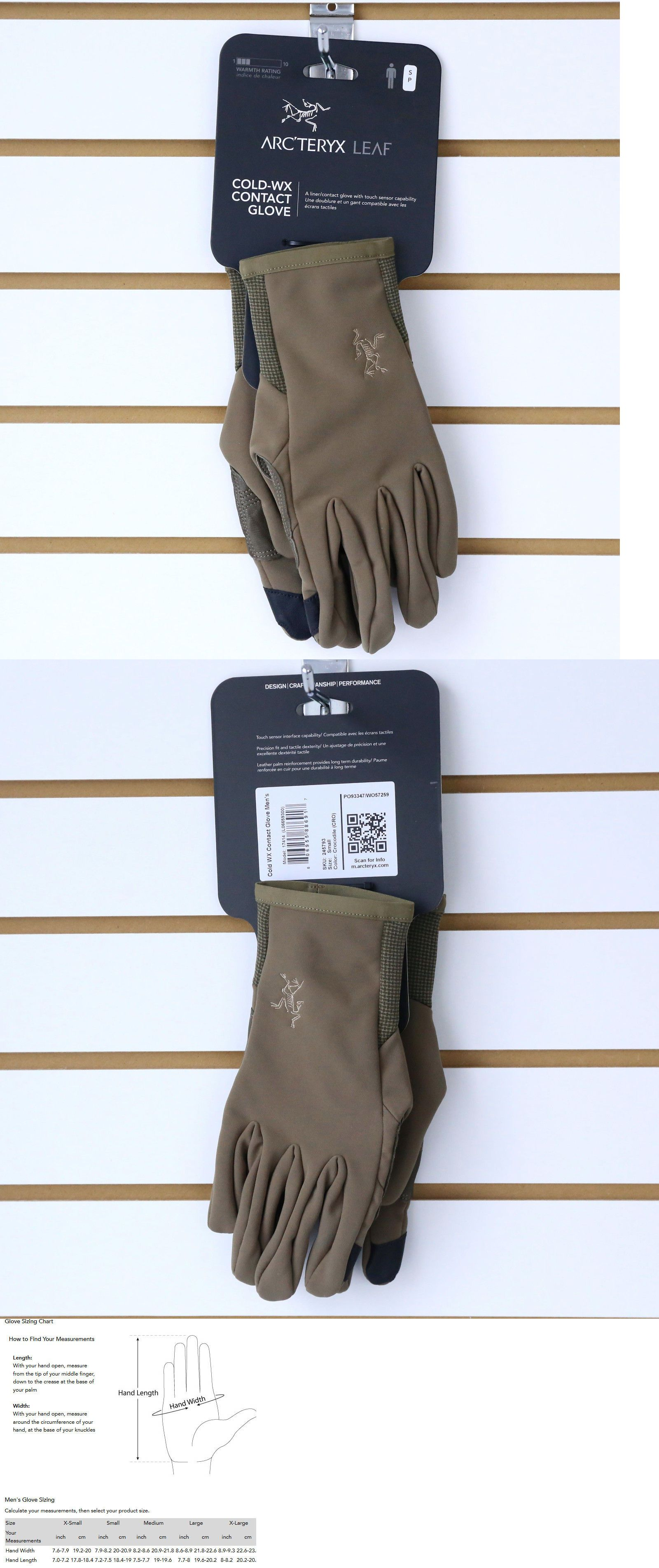 Tactical Gloves 177898: Nwt Arc Teryx Leaf Cold Wx Contact Gloves Tactical Military -> BUY IT NOW ONLY: $69.95 on eBay!