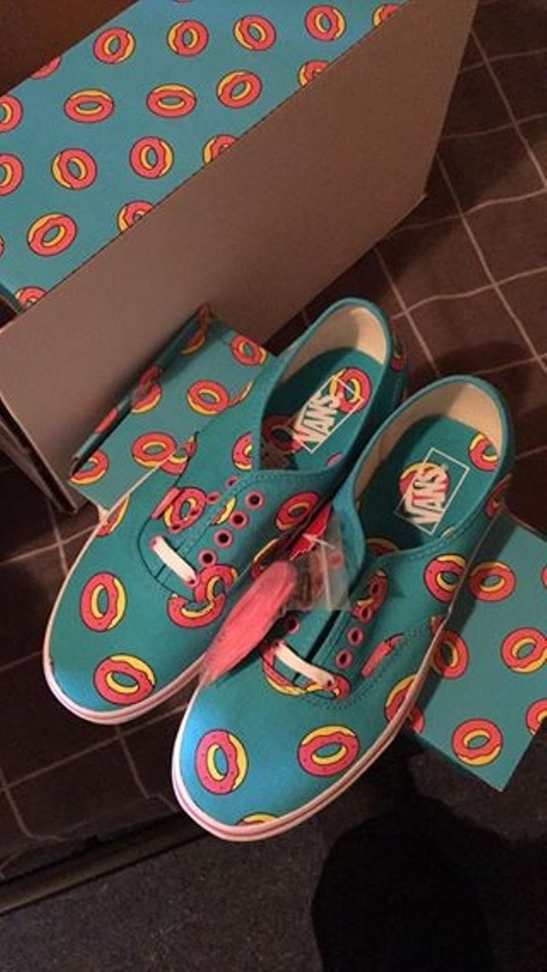 14d6e66e04ad97 Odd Future × Vans Vans X Odd Future (Donut) Size 9  100 - Grailed. Find  this Pin and more on Men s Fashion by Emily Pugh. Tags. Skate Shoes
