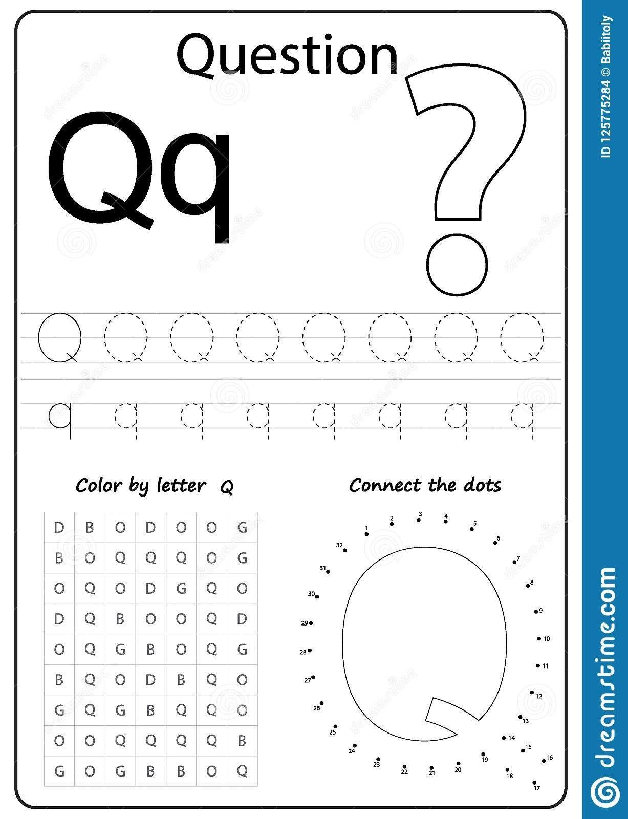 Letter M Worksheets Preschool Writing Letter Q Worksheet Writing A Z Alphabet In 2020 Letter Q Worksheets Writing Practice Worksheets Learning Worksheets