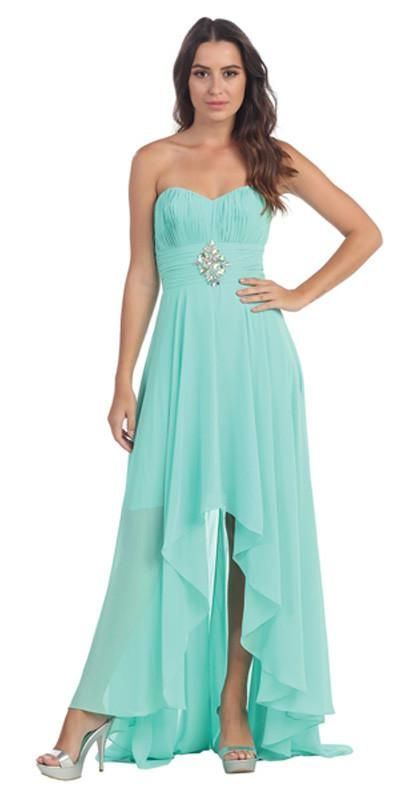 Clearance Bridesmaid Dresses in Mint