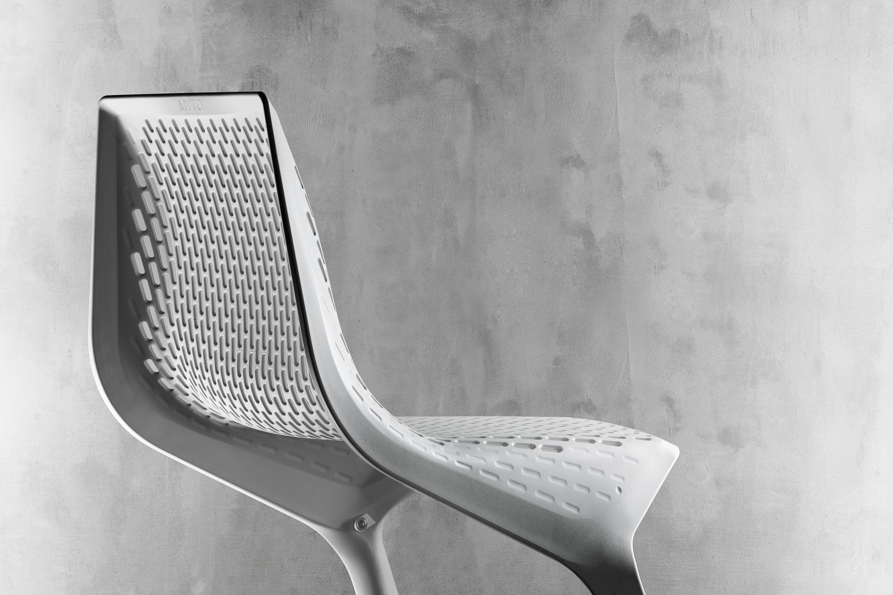 Myto Chair White By Konstantin Grcic I Manufacuter Plank