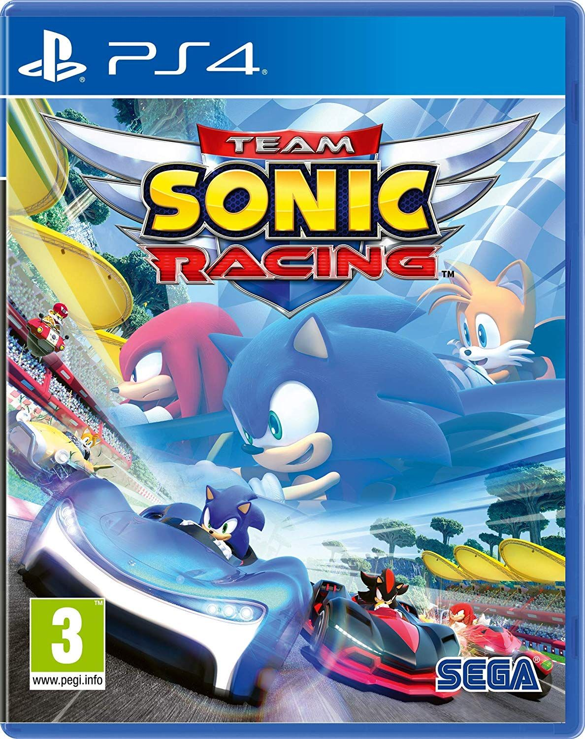 Team Sonic Racing Review (PS4) Xbox one games, Nintendo