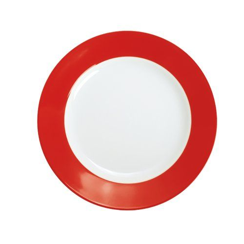 Pronto 20 5cm Porcelain Breakfast Plate Kahla Colour Red Glass