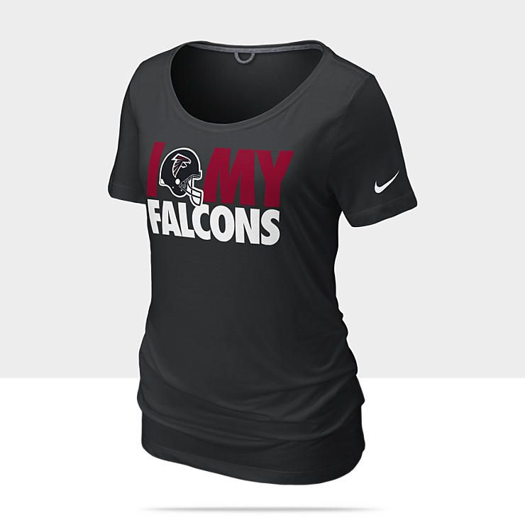 Nike Atlanta Falcons Team Dedication Women's NFL Tee Shirt