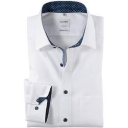 Photo of Olymp Tendenz Hemd, modern fit, New Kent, Weiß, 38 Olymp