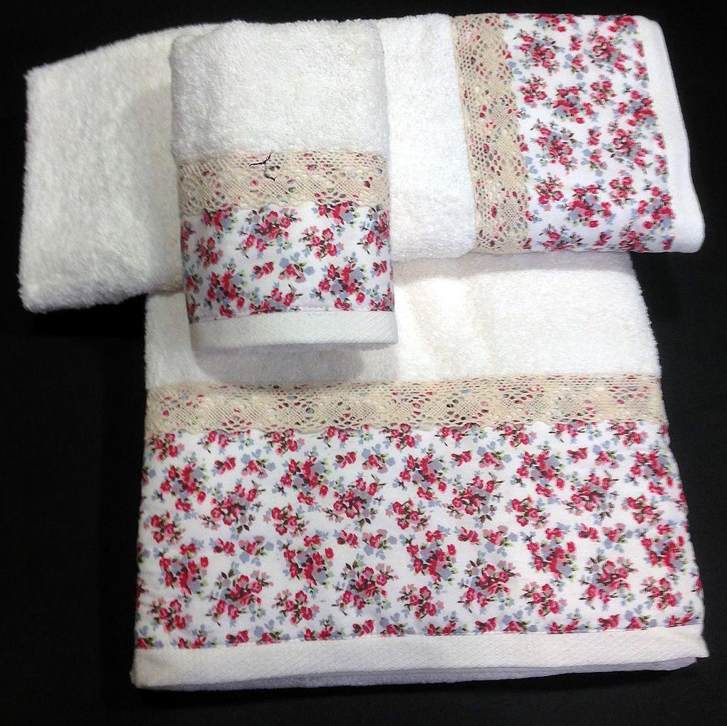 Juego de toallas tambi n con la misma tela y cojines de - Tela de saco ...