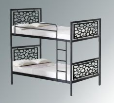 lits superpos s en fer forg mod le pessac lits. Black Bedroom Furniture Sets. Home Design Ideas