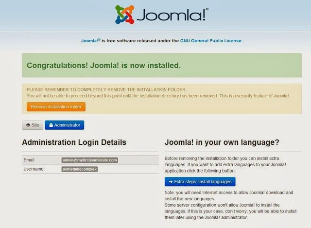 #Joomla 3.1 Installation Guide with #XAMPP   Social Media, Software, Web on End of Line Magazine