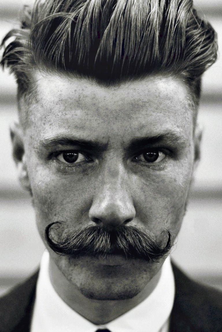 1920s undercut hairstyles men | barber | 1920s hair, beard