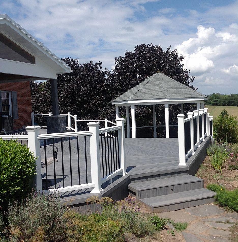 Custom Trex Deck/Porch, Downingtown PA   820 Sq Ft ...