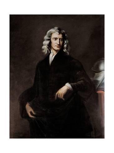 Portrait Of Isaac Newton Art Print Thomas Oldham Barlow Art Com Isaac Newton Famous Scientist Science Facts