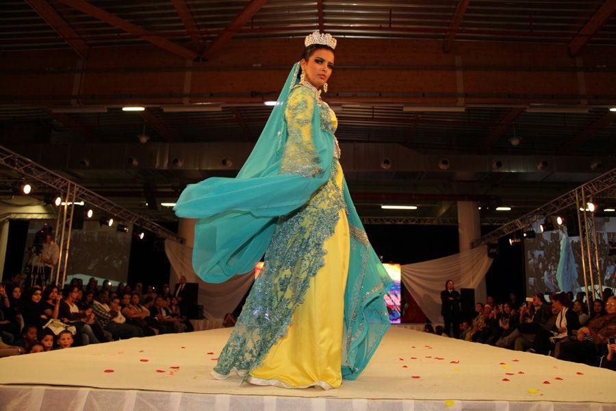 défilé du salon du mariage oriental et mixte