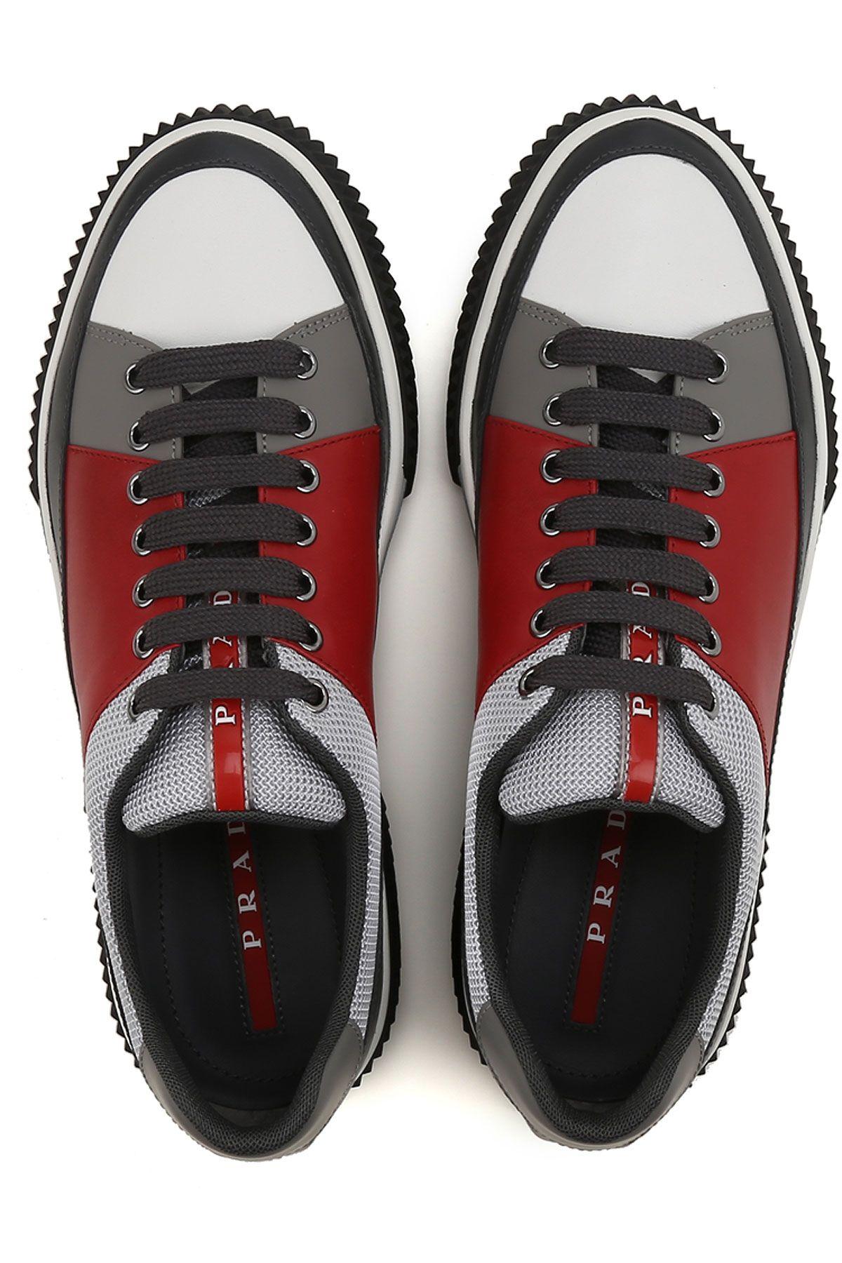 Prada sneakers for men, Prada men shoes