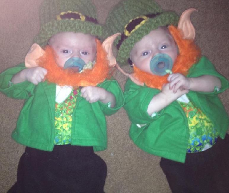My little leprechauns!