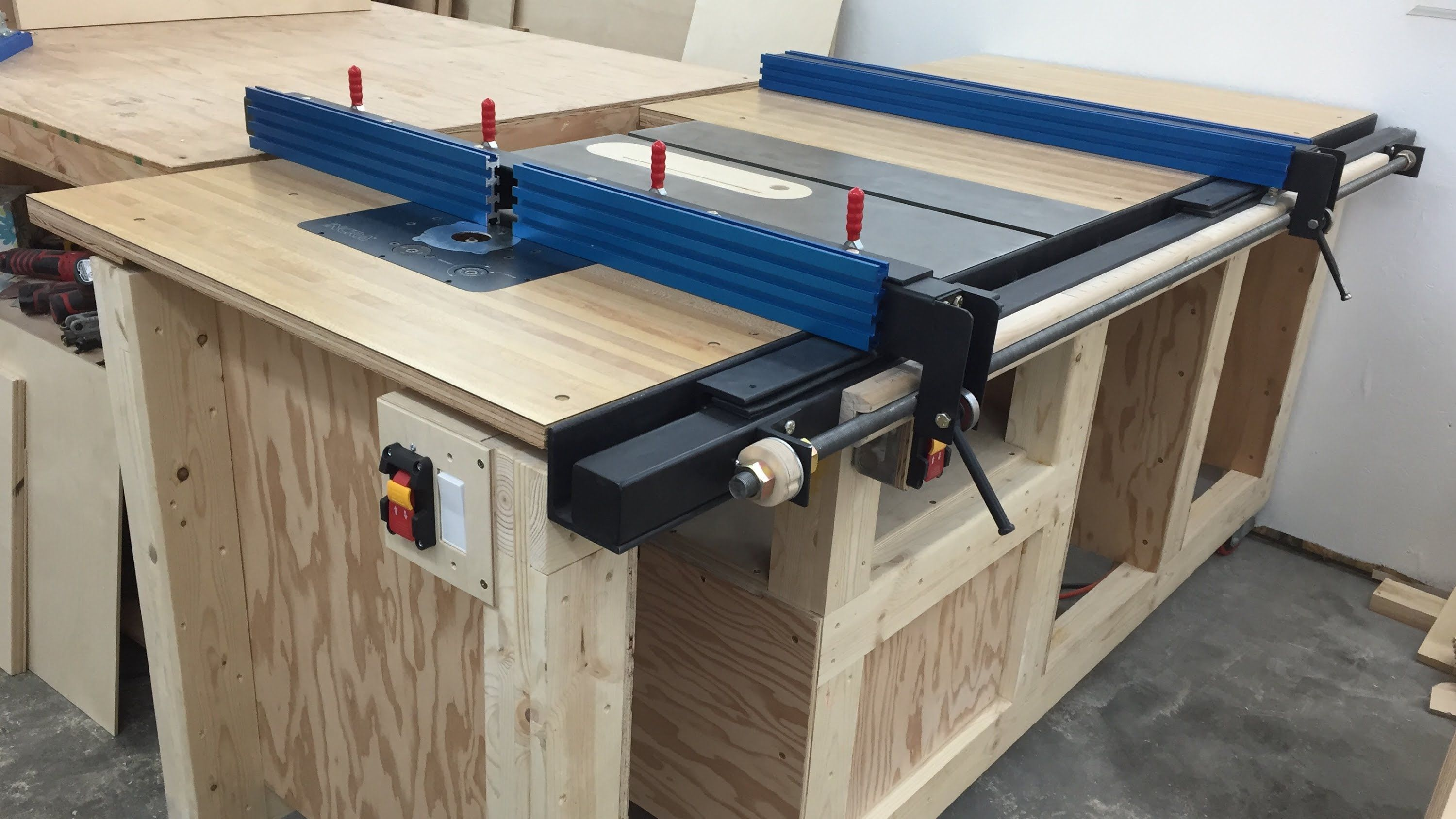 An Overview Of My Table Saw Station Since I Got So Many Questions