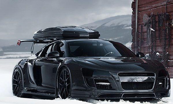 Jon Olsson Blacked Out Audi R8