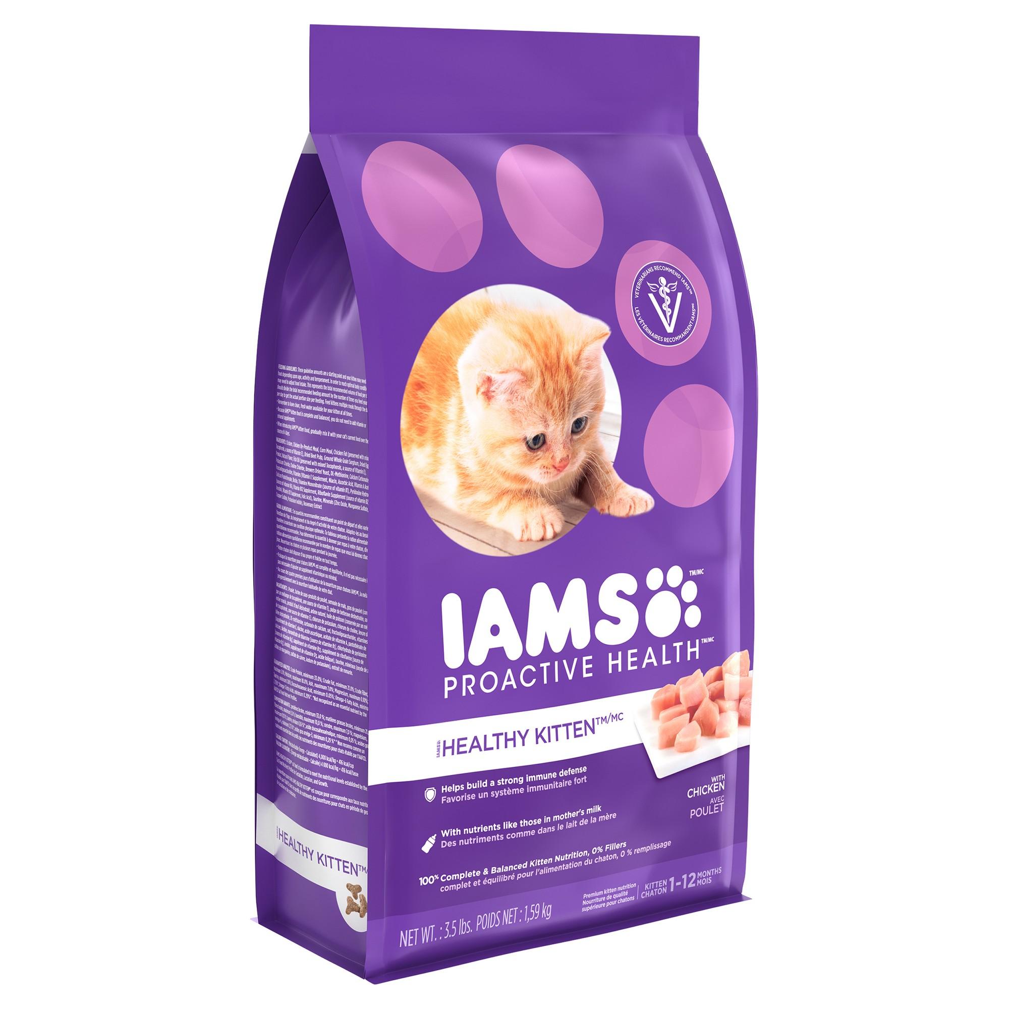 Iams Proactive Health Kitten Wet Cat Food 3.5lbs