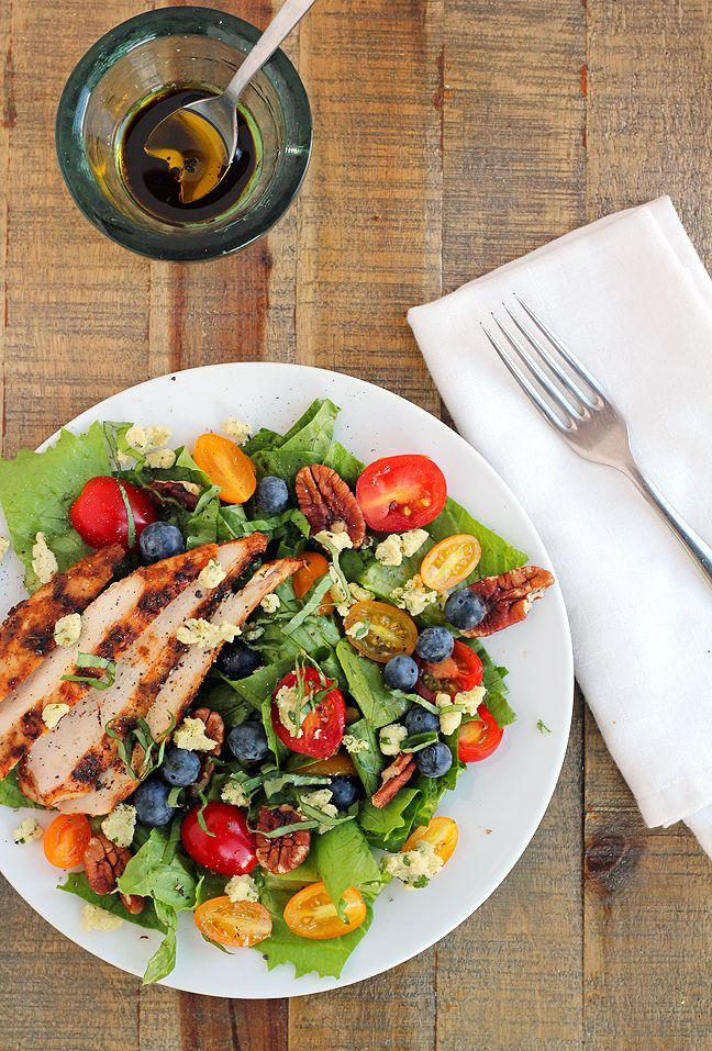 Summer Salad with Grilled Chicken