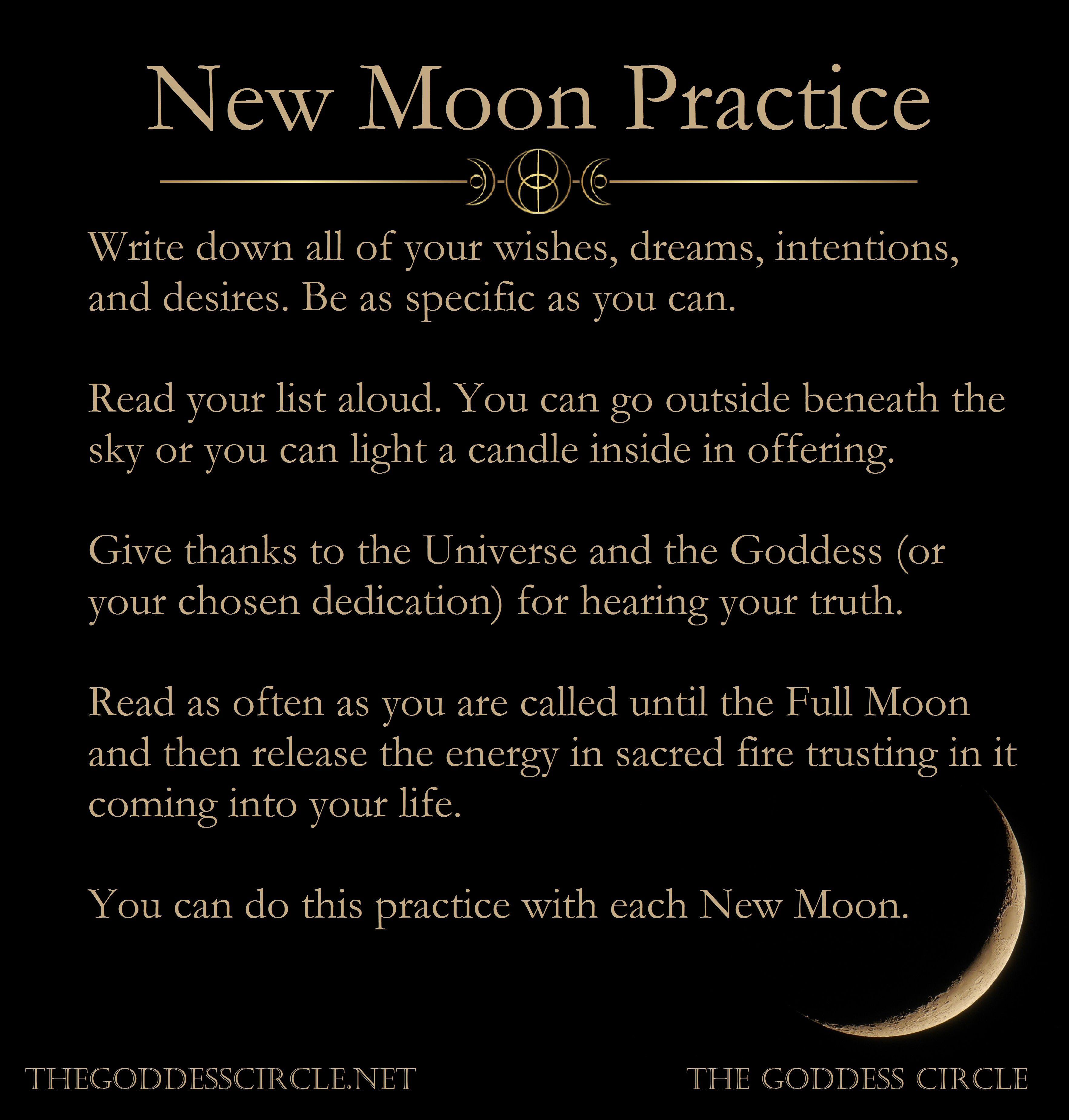 6 New Moon Rituals