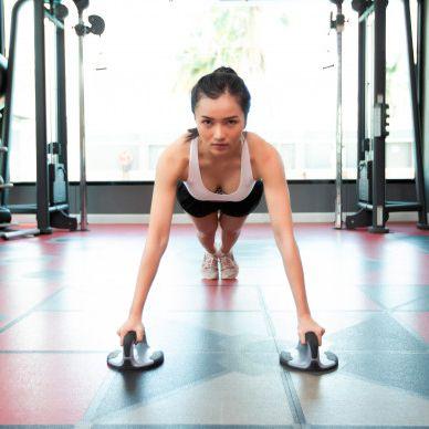 Soporte para Flexiones Par Giratorio Sportiva referencia AB3439. ⭕ www.sportiva.com.co #yoga #pilate...
