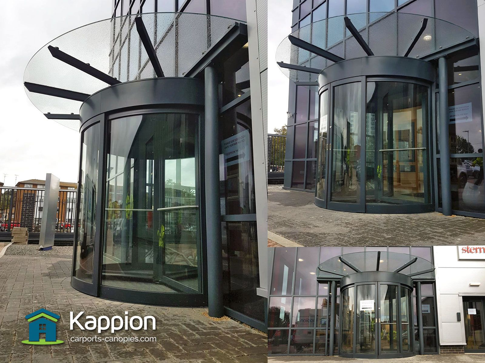 Custom designed, manufactured and installed by Kappion to ...