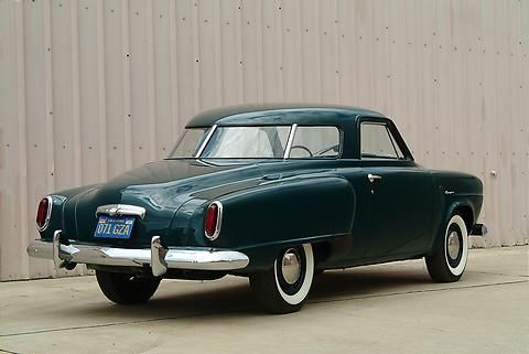 Studebaker Champion Starlight Coupe  wraparound rear window Nice