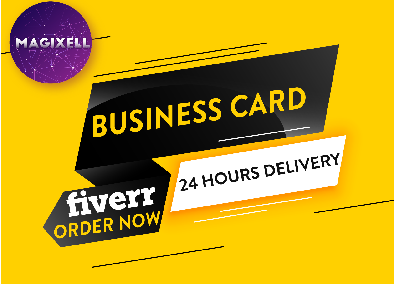 Magixell I Will Create Pro Business Card With Unlimited Revisions Within 24h For 10 On Fiverr Com Business Cards Professional Business Cards Business