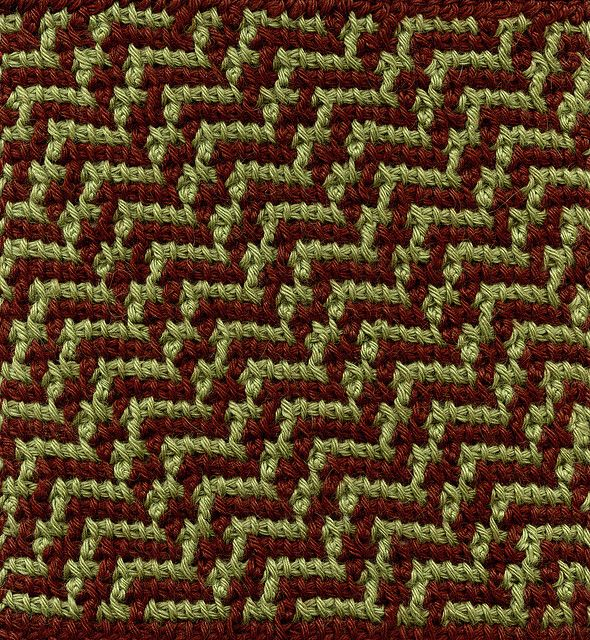 Several Tunisian Square patterns here   Tunisian Crochet   Pinterest ...