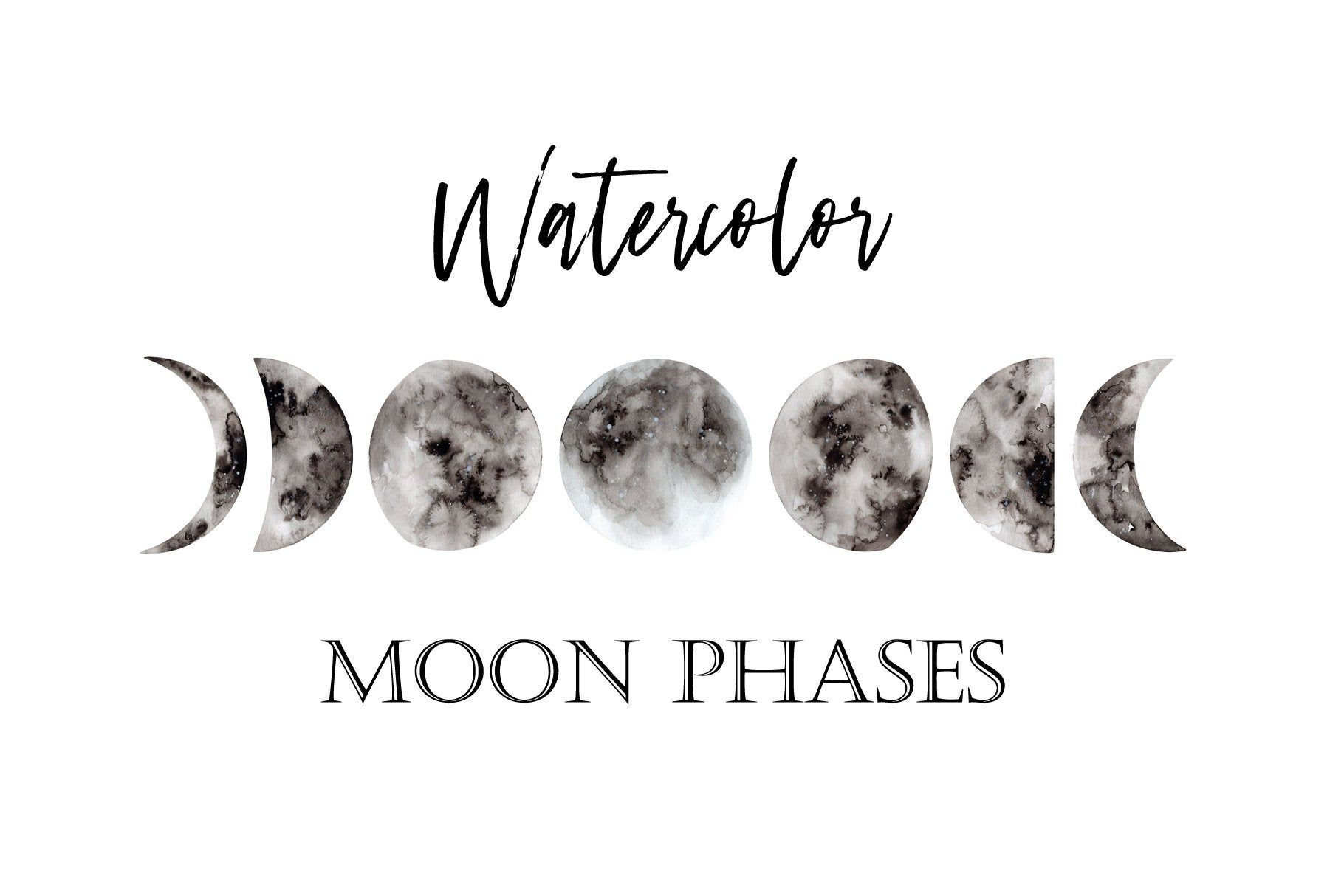 Moon Phases Png
