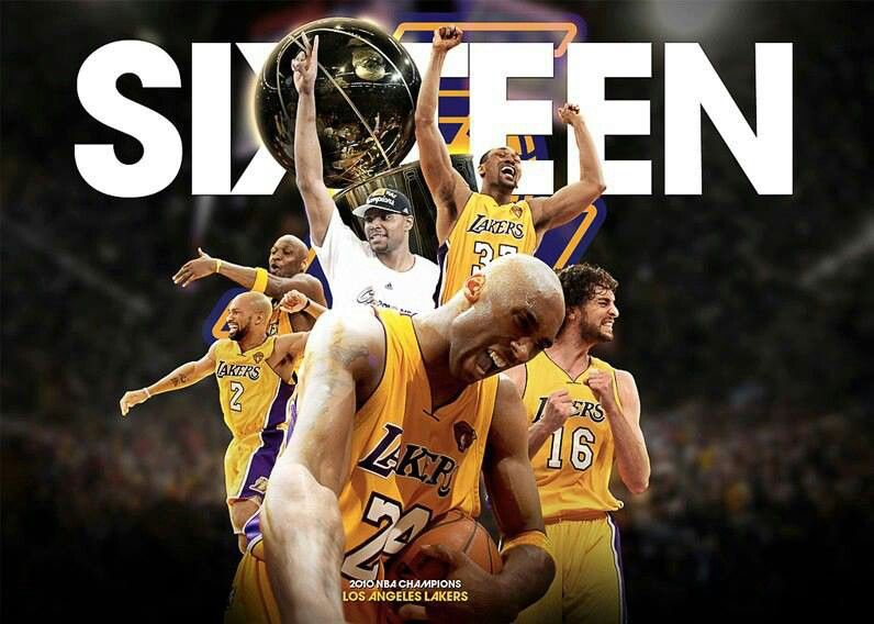 16 Rings Los Angeles Lakers Lakers Lakers Team