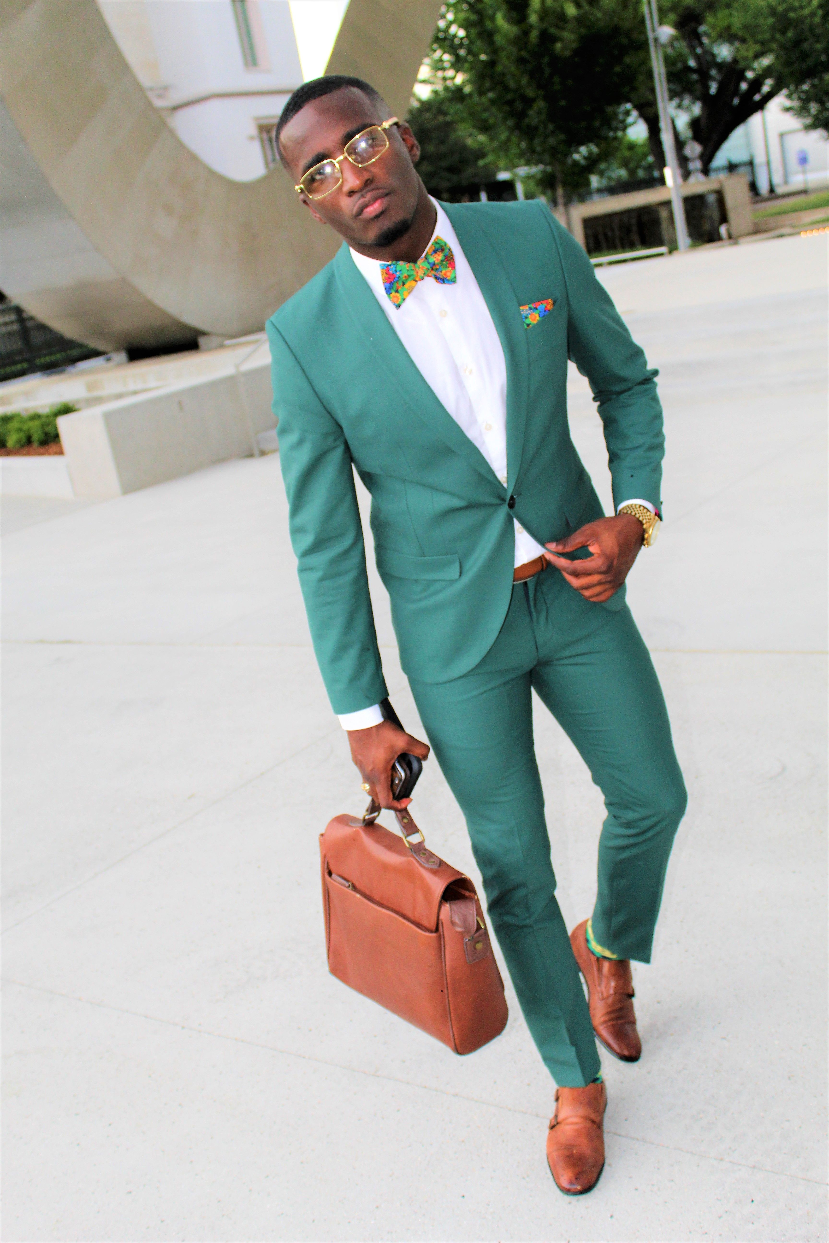 Fashion Fresh Mens Cotton  Flowers Bows Bowtie Wedding Party Adjustable Bow tie