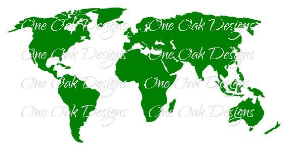 World map svg vector dxf png design file for cricut cameo and world map svg vector dxf png design file for cameo silhouette studio gumiabroncs Gallery