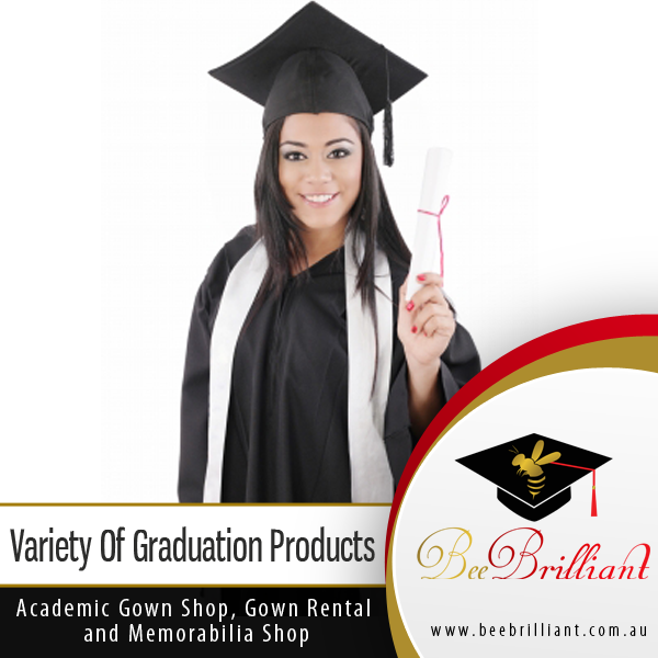 Bee Brilliant is proud to provide its variety of graduation products ...