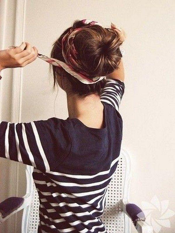 Peinado casual recogido