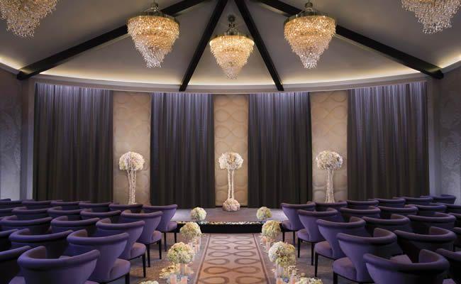 The ARIA Wedding Chapel Sleek Contemporary Elegant