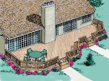 Google Image Result For Http Www Eplans Com Content Images Common Plans Image Deck Building Plans Dream Deck Deck Designs Backyard