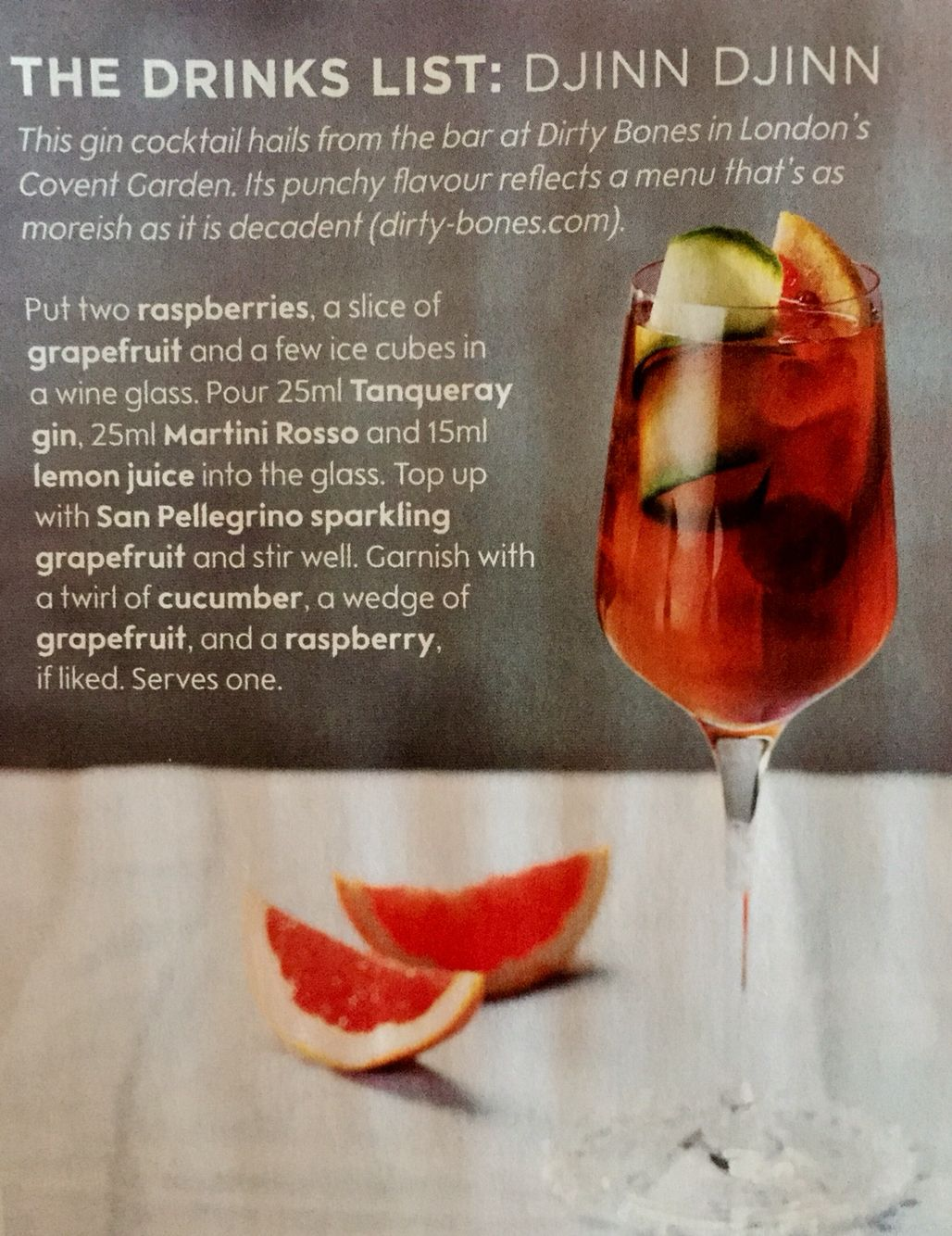 Djinn Djinn Cocktail Raspberries Sparkling Grapefruit Gin Martini Lemon Juice Cucumber Gin Cocktails Cocktails Cocktail Drinks